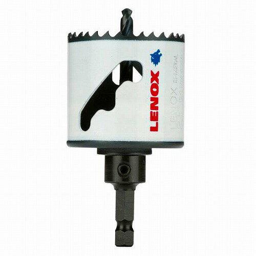 レノックス(LENOX)軸付バイメタルホルソー140φmm〔5121054〕幅広スリットタイプ