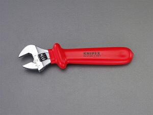 クニペックス(KNIPEX)絶縁モンキーレンチ9807-250 9807250