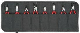 【あす楽】クニペックス(KNIPEX)スナップリングプライヤー8本セット001958V01