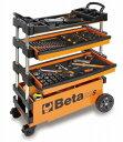 Beta(ベータ)フォールディングツールトロリー(工具箱 ツールケース キャビネット)〔C27S〕C27S