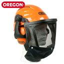 OREGON 高性能ヘルメット 562413 頭部 顔面 防護 防護材 安全 保護 林災防 バイザー 騒音対策 ツール 林業 農業 野外 …