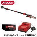 【バッテリー、充電器込み】 OREGON PS250-A7 バッテリー ポールソー 高枝 チェンソー チェーンソー CTS コードレスツ…