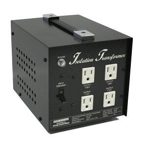 アイソレーション電源トランス600W100V専用仕様・ギタリスト電源