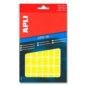 APLI アプリ 手書き角丸カラーラベル 56片×8枚 計448片入 (AP-02750)【文具 デザイン文房具 海外文房具 文房具かわいい おしゃれかわいい ラベルシール ステッカー インクジェット プリンタラ