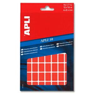 APLI アプリ 手書き角丸カラーラベル 56片×8枚 計448片入 (AP-02752)【文具 デザイン文房具 海外文房具 文房具かわいい おしゃれかわいい ラベルシール ステッカー インクジェット プリンタラ