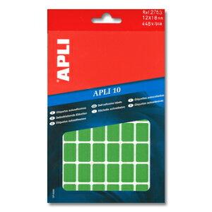 APLI アプリ 手書き角丸カラーラベル 56片×8枚 計448片入 (AP-02753)【文具 デザイン文房具 海外文房具 文房具かわいい おしゃれかわいい ラベルシール ステッカー インクジェット プリンタラ