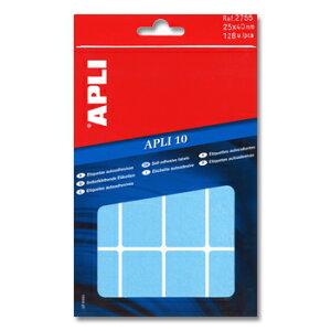 APLI アプリ 手書き角丸カラーラベル 16片×8枚 計128片入 (AP-02755)【文具 デザイン文房具 海外文房具 文房具かわいい おしゃれかわいい ラベルシール ステッカー インクジェット プリンタラ