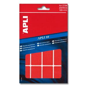 APLI アプリ 手書き角丸カラーラベル 16片×8枚 計128片入 (AP-02756)【文具 デザイン文房具 海外文房具 文房具かわいい おしゃれかわいい ラベルシール ステッカー インクジェット プリンタラ
