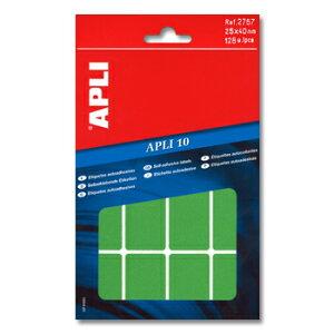 APLI アプリ 手書き角丸カラーラベル 16片×8枚 計128片入 (AP-02757)【文具 デザイン文房具 海外文房具 文房具かわいい おしゃれかわいい ラベルシール ステッカー インクジェット プリンタラ