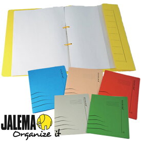 JALEMA クリップファイル A4サイズ文具 オフィス事務用品 ステーショナリー クリアファイル ファイル デザイン文具 海外文具 おしゃれ デザイン かわいい文房具