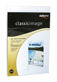 サインホルダー I型 壁掛けタイプ A4 縦 (47001)【フォトフレーム カード立て メニュースタンド 写真立て】