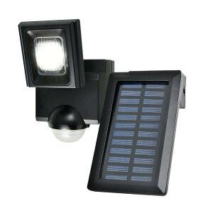 【クーポンあり】【送料無料】ELPA(エルパ) 屋外用LEDセンサーライト ソーラー発電式 ESL-N111SL