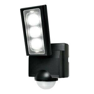 【クーポンあり】ELPA(エルパ) 屋外用LEDセンサーライト 乾電池式 ESL-311DC