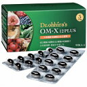 【クーポンあり】【あす楽】乳酸菌 生酵素 サプリメント OM-X 12PLUS(オーエム・エックス 12プラス)60粒