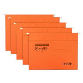 ハンギングファイル(5枚入り) オレンジ H6527-CRE03