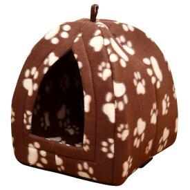 【ポイント10倍】【クーポンあり】【あす楽】ドッグハウス キャットハウス ペットベッド ぬくぬくあったか 小型犬用 ペットハウス