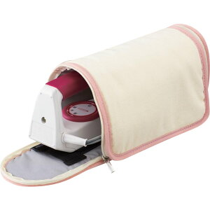 【クーポンあり】クロバー パッチワークアイロン用 ケース&マット 57-909 ポータブル アイロン入れ 収納 持ち運び アイロンマット 収納バッグ 折りたたみ 収納袋