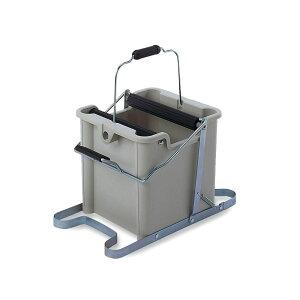 【クーポンあり】【送料無料】テラモト MMモップ絞り器 C型 CE-892-000-0 手が汚れない 洗う 清掃用具 14L しぼる ビル 水切り 掃除 学校