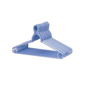 ネオクリップハンガー5本組パールブルー(C) フック 衣類 服 タオル 掛けやすい 襟 飛ばない スカート 首が伸びない キャミソール 強力 簡単 洗濯