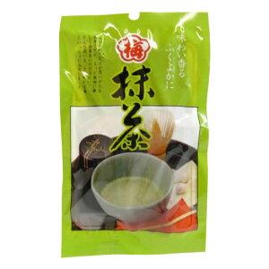 【クーポンあり】マン・ネン 梅抹茶(袋)(2g×10袋入) 10セット 0017 梅肉 まっ茶 昆布エキス あられ おかゆ 浅漬け 小分け 粉 お茶 お茶漬け 梅こぶ茶