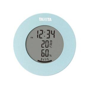 【クーポンあり】TANITA タニタ デジタル温湿度計 TT-585BL