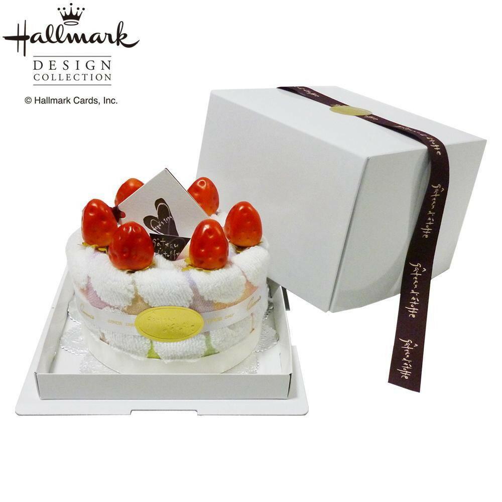 【ポイント10倍】【クーポンあり】ホールマーク チャーミードロップデコ THA2004764 まるで本物のようなケーキタオル!!