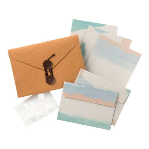 【クーポンあり】Carry Letter レターセット BEACH PCL-03