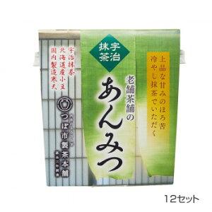 【クーポンあり】【送料無料】つぼ市製茶本舗 宇治抹茶あんみつ 179g 12セット