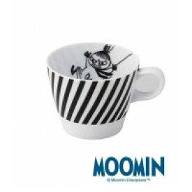 【クーポンあり】MOOMIN(ムーミン) マグカップ(ミイ) MM702-11 食器 おしゃれ キャラ 黒 モノトーン かわいい コップ 白
