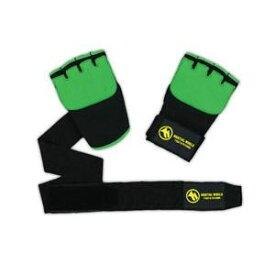 【クーポンあり】GWBT グローブラップBT L インナーグローブ ハンド フィットネス バンテージ代わり ミット打ち 水洗い ジェルパッド 伸縮性 拳