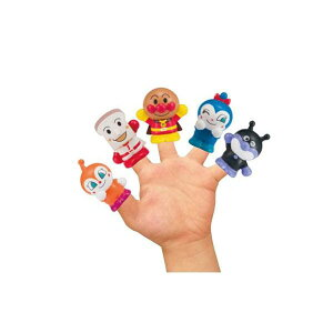 【クーポンあり】アンパンマン にこにこ指人形 10585 ばいきんまん キャラ おもちゃ グッズ しょくぱんまん コキンちゃん ドキンちゃん かわいい 子供