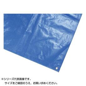 【クーポンあり】鵜沢ネット 防水カバーシート 3.6×5.4m ブルー 3000 11040