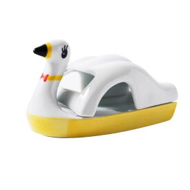 12539 スワンボートトレイ 黄 いつもの暮らしをより楽しく演出。