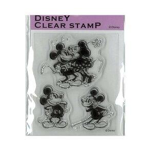 【ポイント10倍】【クーポンあり】Paper Intelligence Disney(ディズニー) クラシカルスタンプ ミッキー&ミニー1 STP-D0010 4101404