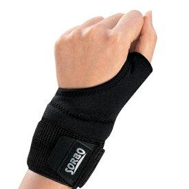 ソルボDo(ソルボドゥ)リストサポーター ブラック 手首の動きを妨げずにサポート・固定!