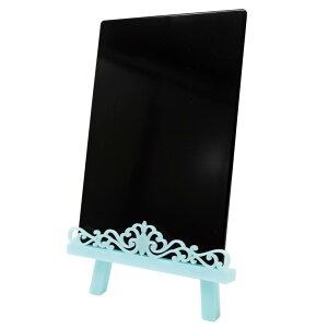 【クーポンあり】プライーゼル エレガント(ボード付き) ブルー AR0406050 エレガントな飾り付のイーゼル。