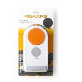 【クーポンあり】【送料無料】Fiskars(フィスカース) パワーパンチ XL サークル 1020498(4109490) 固くて厚みのある紙やシートに最適な穴あきパンチ☆