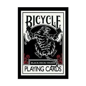 【クーポンあり】プレイングカード バイスクル ブラックタイガー レッドピップス PC808BB