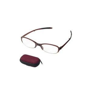 【ポイント10倍】【クーポンあり】老眼鏡 シンプルビジョン コンパクト SV-401 WI +2.50 071550 女性用 折りたたみ メンズ 男性用 おしゃれ メガネ 携帯 めがね 収納 レディース 眼鏡