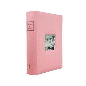 【クーポンあり】【送料無料】メガアルバム600 メゾンシリーズ ベビーピンク 105450 整理 写真 収納 ポストカード判 L判 大容量 思い出 フォトブック 赤ちゃん ハガキ 子ども 600枚