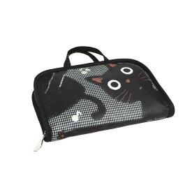 【ポイント10倍】【クーポンあり】フリーケース J509・OT 可愛いネコ柄のフリーケース!