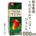 《熊本県果実農業協同組合連合会》トロピカルマンゴージュース【1000ml】