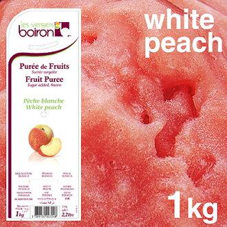"""Boiron"" purée de pechebransch (peach)"