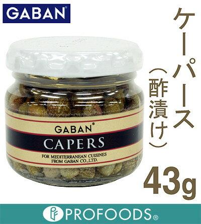 《GABAN》ケーパース(酢漬け)【43g】