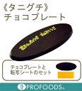 《たにぐち》チョコプレート(BM-20ファインプレート)【10g×1個】(個包装)