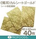 《博洋》乾燥剤カルシートゴールド(4×6cm)【40枚】