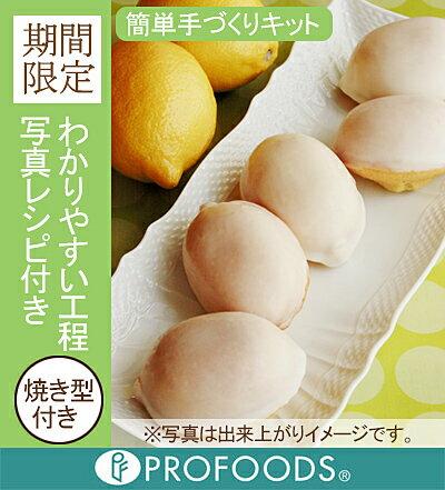 【プロフーズ手づくりキット】レモンケーキ[12個分]