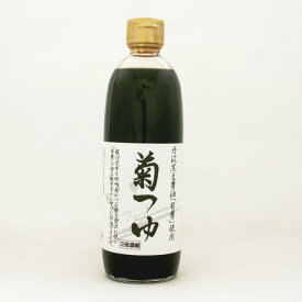 《ヤマロク醤油》菊つゆ【500ml】