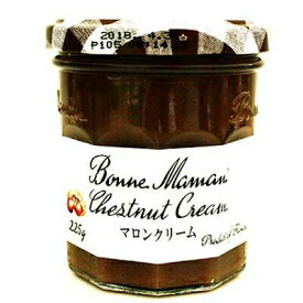 《ボンヌママン》マロンクリーム【225g】