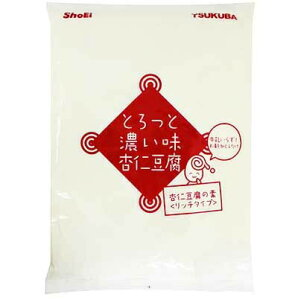 筑波乳業 とろっと濃い味杏仁豆腐 440g